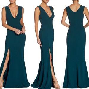 Dress the Population Sandra Plunge Dress Size XL